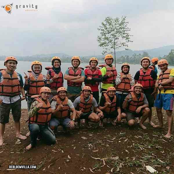 rafting pangalengan gravity adventure