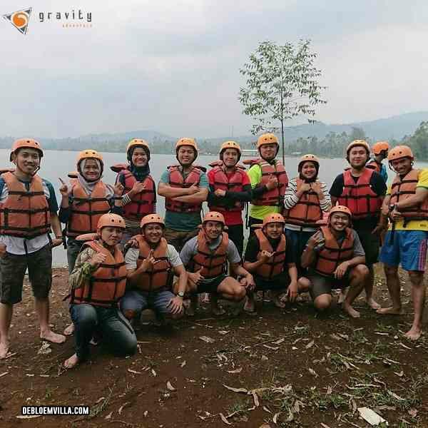 pengalaman rafting di pangalengan